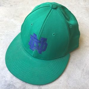 Notre Dame Green Hat Small/Medium
